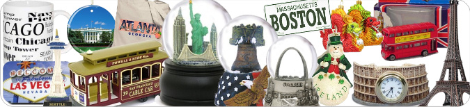 Destination themed gifts and souvenirs across the USA and around the world